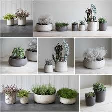 stone garden pots ebay