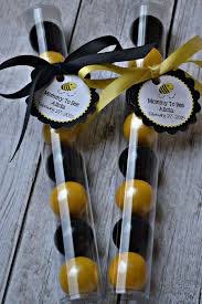bumble bee black and yellow gumball favors bumblebee