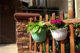 3pcs small 3 colors plastic roman pastoral style vertical garden