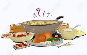 cuisine fond blanc cuisine asiatique avec des baguettes isolé sur fond blanc