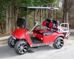 davis golf cart sales custom carts