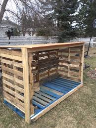 Diy Wood Shed Design by Firewood Storage Rack Pallets Google Search U2026 Pinteres U2026
