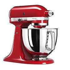 kitchenaid le livre de cuisine kitchenaid 5ksm125eer artisan pâtissier empire 4 8 l 300