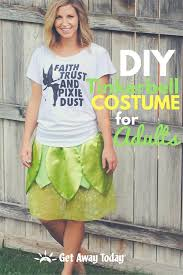 Tinkerbell Halloween Costume Adults Diy Tinkerbell Costume Adults