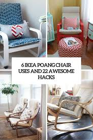Ikea Chairs Living Room by 6 Ikea Poang Chair Uses And 22 Awesome Hacks Digsdigs