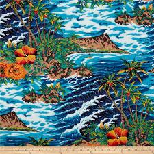 tropical island turquoise discount designer fabric fabric com