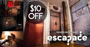 10 off at escapade the kiwi escape game auckland tourism