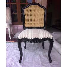 Refinishing Cane Back Chairs Cane Back Chair How To Paint And Remake A Torn Cane Back Chair