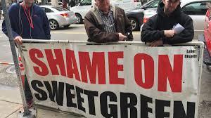 Sweetgreen Carpenters Union Protests Outside Boston Sweetgreen Boston