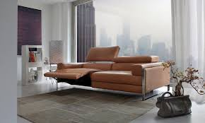 canape relax design contemporain canapé modulable design original en cuir 3 places romeo