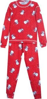 childrens pajamas snowmen 6 month