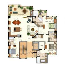 100 floor plan for mac vintage features of a spanish house