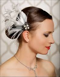 feather hair accessories fascinating feathered hair accessories for brides
