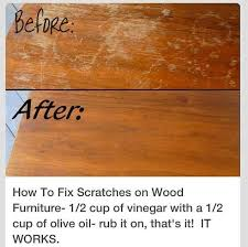 is it safe to use vinegar on wood cabinets how to fix scratches on wood cleaners recipes