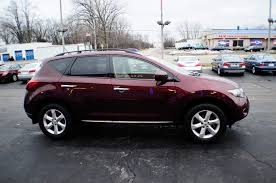 nissan murano for sale 2009 nissan murano sl burgundy sport used suv sale