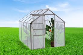 6ft X 8ft Greenhouse Ogrow 6 3 Ft W X 8 4 Ft D Greenhouse U0026 Reviews Wayfair