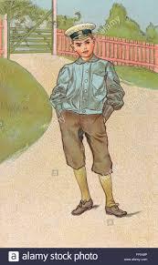 postcard of a boy by the swedish artist carl larsson 1853 1919