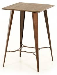 bar height table height darius modern bar height table copper bar table