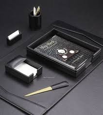 Leather Desk Accessories Organizers by Promotional Gifts For Busines Busines Theme Promotional Gifts