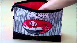 Trousse De Toilette Dlp by Trousse De Toilette Femme Miss Chic Youtube