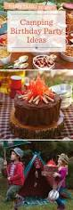 camping birthday party ideas hallmark ideas u0026 inspiration