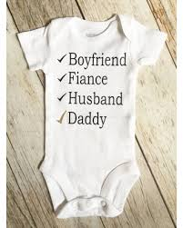 baby announcement amazing shopping savings husband baby announcement onesie