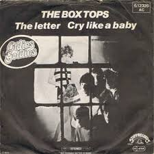 the box tops the letter cry like a baby vinyl at discogs