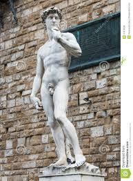 Michelangelo David Statue Copy Of Michelangelo U0027s David Piazza Della Signoria Florence