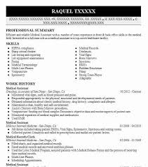 Pediatric Medical Assistant Resume Medical Resume Templates To Impress Any Employer Livecareer