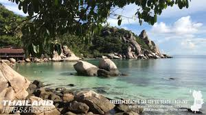 freedom beach u0026 taa toh yai beach koh tao thailand 4k youtube