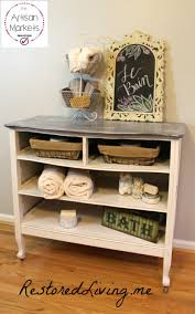 Repurpose Changing Table by November 2016