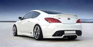 hyundai genesis coupe 2012 2010 2012 hyundai genesis coupe rear bumper diffuser