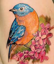 Cool Sparrow - 75 beautiful sparrow tattoos