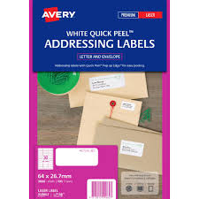 Avery Template 30 Labels Per Sheet Avery Laser Small Address Labels White 100 Sheets 30 Per Page