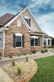 exterior design exterior home design with appealing versetta stone