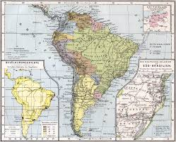 Map Of Sounth America by Map Of South America 1905