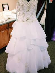 wedding dress alterations cost alfred angelo tale tulle ballgown wedding dress the