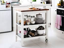 Ikea Kitchen Island Catalogue A Large Kitchen Diner In Light Beige And Walnut With Kitchen