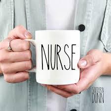 rae dunn inspired vinyl nurse decal for mug custom vinyl decals
