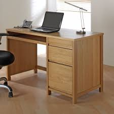 Oak Laptop Desk Contemporary Oak Home Office Computer Or Laptop Desk