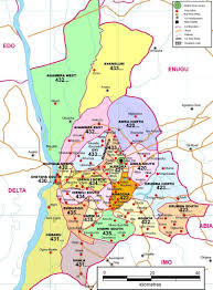 Nigeria State Map by Nigeria 36 States U0026 Their Names Root Designworld International