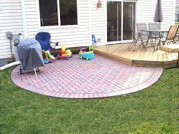 Small Patio Designs With Pavers Paver Patio Ideas Pictures Sunken Paver Patio With Fire Pit In