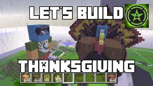 jack in the box thanksgiving let u0027s build in minecraft thanksgiving youtube
