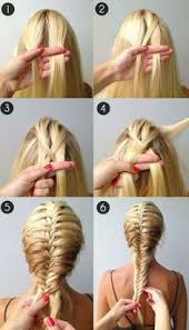 what jesse nice braiding hairstyles a beautiful french fishtail braidso easy takes a while to get the