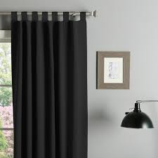 95 Inch Shower Curtain Aurora Home Tab Top Thermal Insulated 95 Inch Blackout Curtain