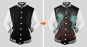 Varsity Jacket Template Psd jersey mockup template pack by go media