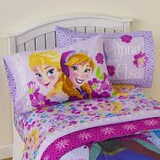 frozen sheets disney frozen girl s sheet set floral home bed bath