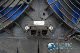 maserati maserati fans radiator cooling fan f1 221255 maserati quattroporte m139 2006 07