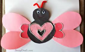valentines day heart butterfly craft for kids crafty morning
