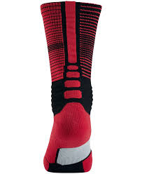 Nike Hyper Elite Quarter Socks Nike Men U0027s Hyperelite Disruptor Basketball Socks In Red For Men Lyst